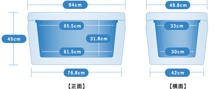 ORION 65 ROCKFISH 寸法表