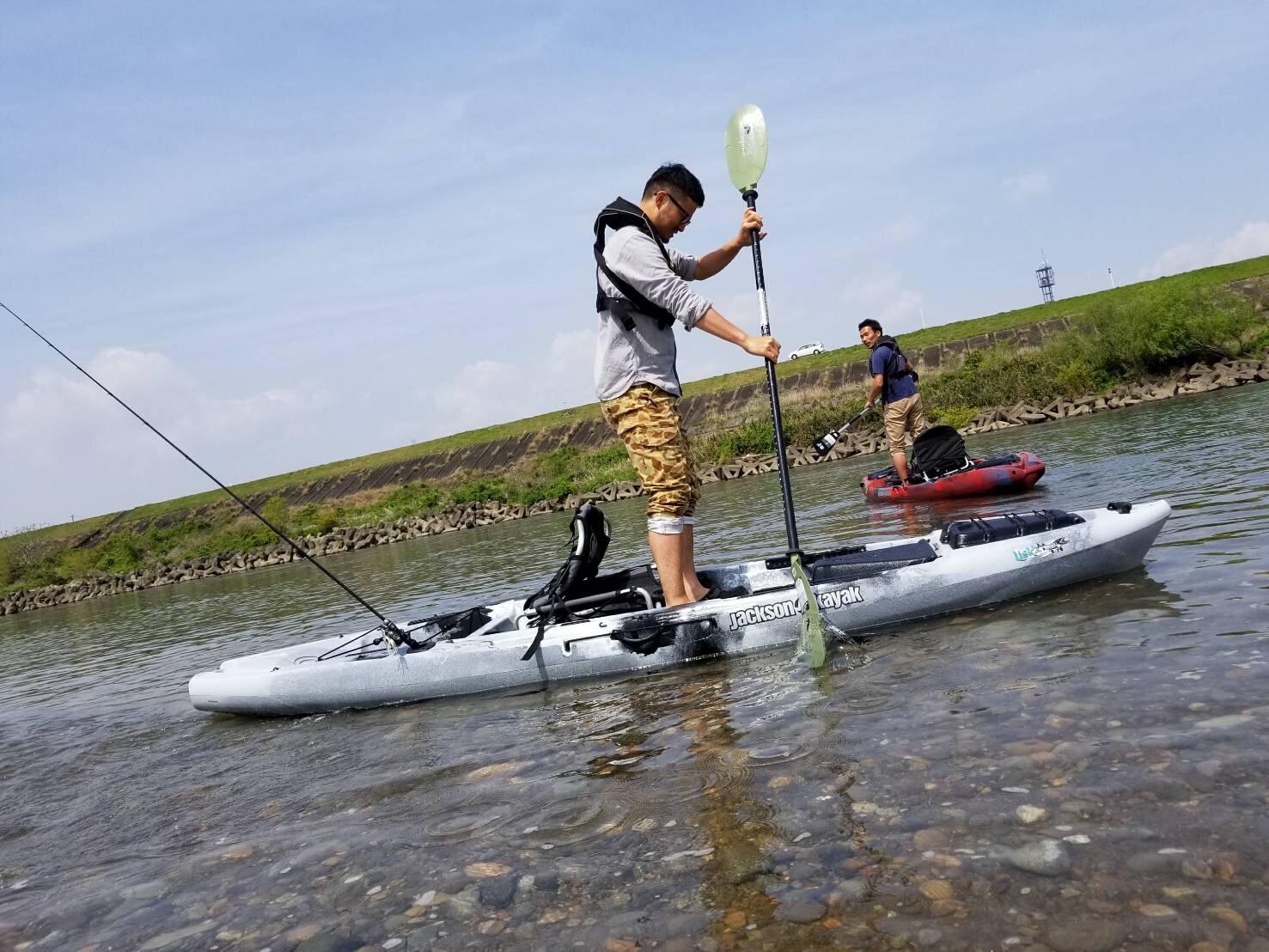 5月3日 琵琶湖 ジャクソンカヤック試乗会のお知らせ
