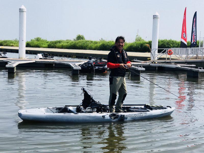 7月8日は、山中湖で試乗会を行います。