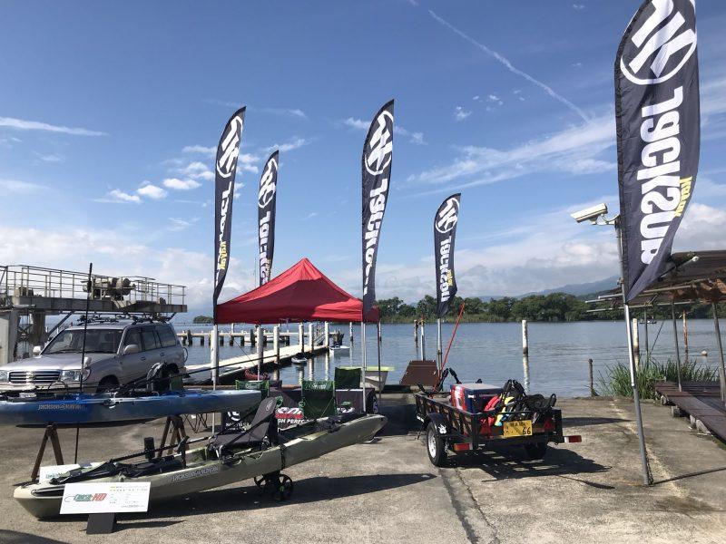 7月8日は 山中湖試乗会です。