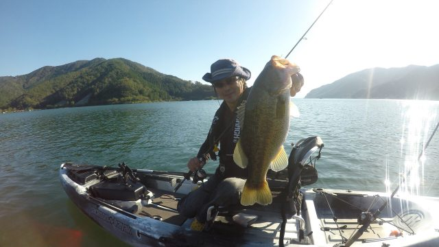 奥琵琶湖で